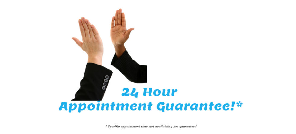 24Hour Physiotherapy Appointment Guarantee