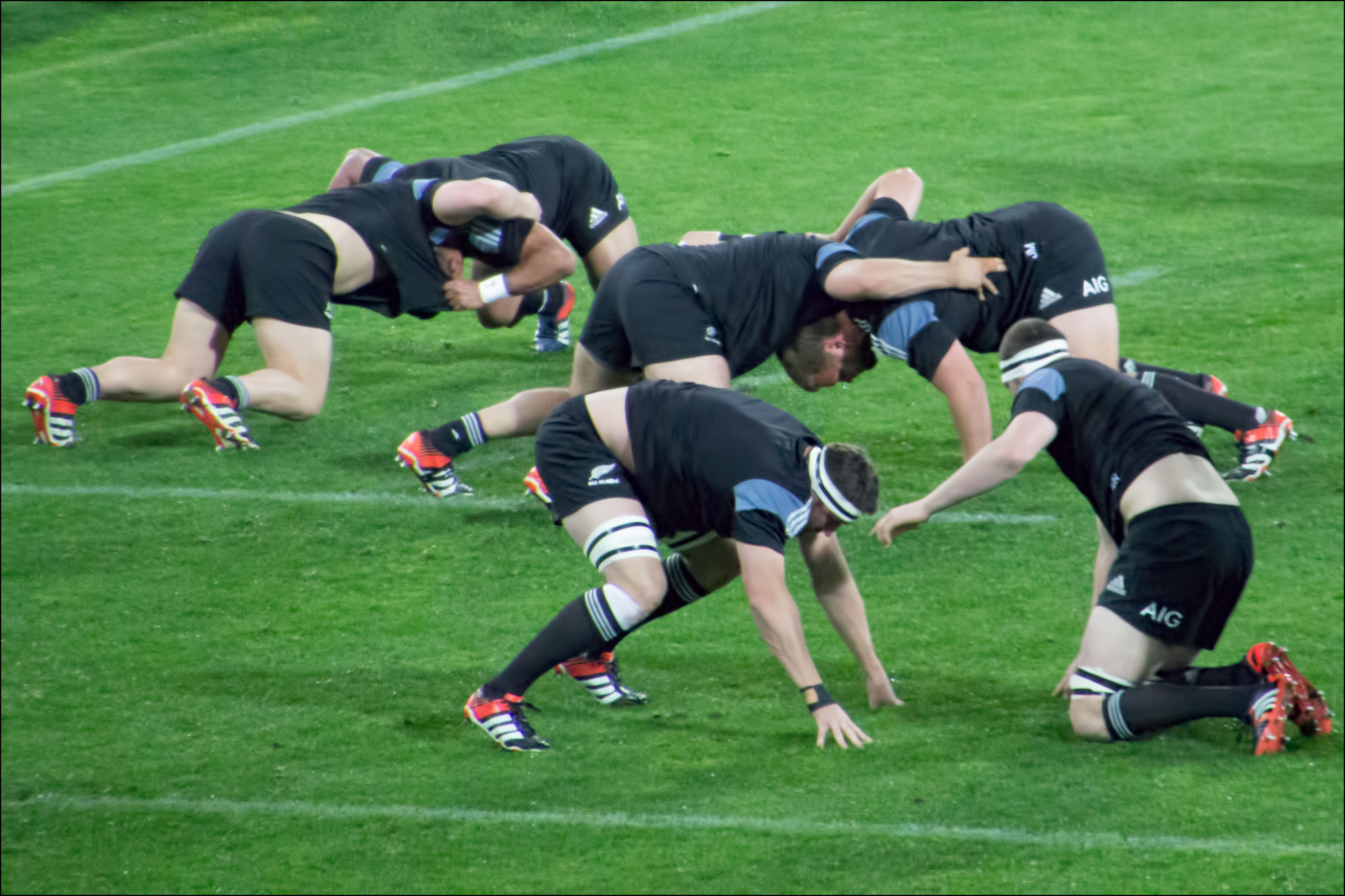 Rugby warm up physio ashburton