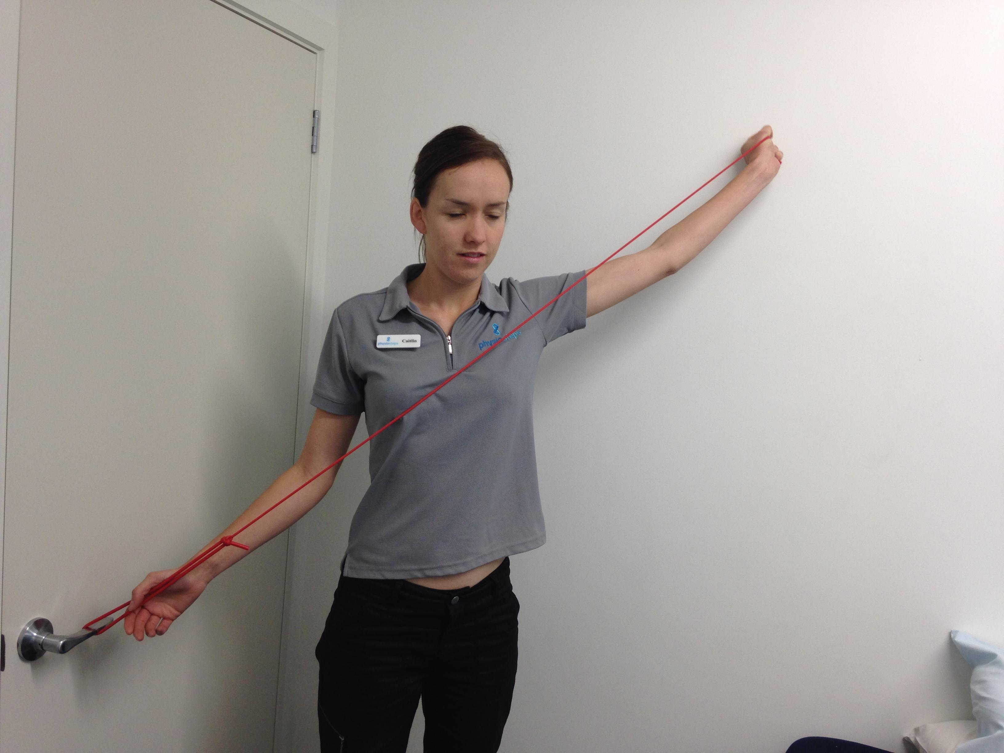 shoulder strengthening for swimmers