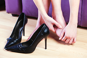 high heels foot pain