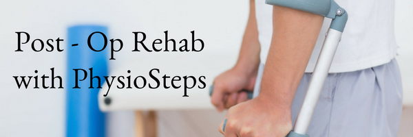 Post op rehab ashburton physiosteps